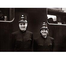 Train Conductors - Austria Photographic Print