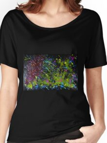 """Universe"" Original acrylic abstract; EJCairns Women's Relaxed Fit T-Shirt"