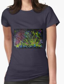"""""""Universe"""" Original acrylic abstract; EJCairns Womens Fitted T-Shirt"""