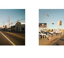 Lincoln Boulevard + Washington Boulevard, Los Angeles, California, USA...narrowed. by David Yoon