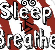 Eat Sleep Breathe Teen Wolf Sticker
