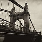 Hammersmith Bridge by Australian
