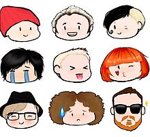Band Member Emojis by BandGirlDoodle