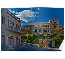 St Paul's Bay Malta -- 1960's Architecture Poster