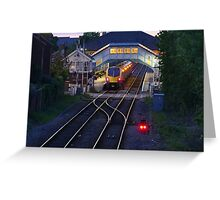 beverley station Greeting Card
