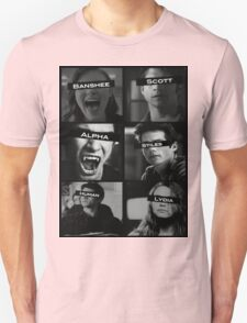 Teen Wolf Black&White T-Shirt