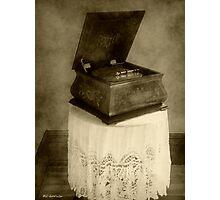 Music Box Memories Photographic Print