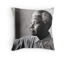 Thinking out of the Box - Madiba Throw Pillow