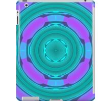 Modern unique circle iPad Case/Skin
