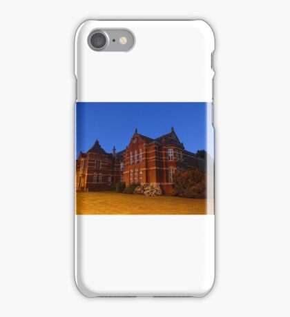 beverley library iPhone Case/Skin