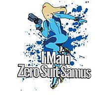 I Main Zero Suit Samus - Super Smash Bros. Photographic Print