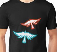 Birds blurred in Mind Unisex T-Shirt