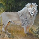 White Lion  by Lance Barnard