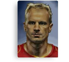 Dennis Bergkamp - Arsenal Invincible  Canvas Print