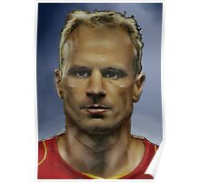 Dennis Bergkamp - Arsenal Invincible  Poster