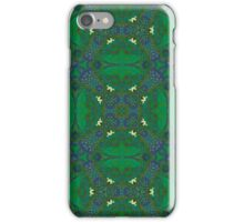 Abstract Pattern green purple iPhone Case/Skin