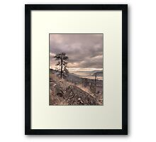 The Two Lakes on a Thursday Framed Print