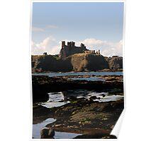 Tantallon Castle - Scotland Poster