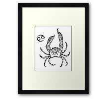 Cancer Framed Print
