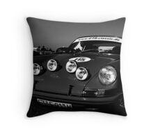 911 Rallye Throw Pillow