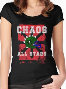 Chaos All Stars Women's Fitted Scoop T-Shirt