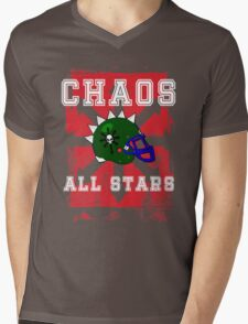 Chaos All Stars Mens V-Neck T-Shirt
