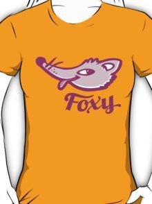 Foxy purple pink graphic art T-Shirt