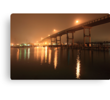 Matanzas Pass Bridge Canvas Print