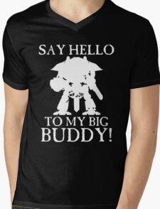 Say Hello To My Big Buddy! - White Mens V-Neck T-Shirt