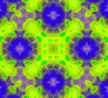 flame pattern blue yellow by ZierNor