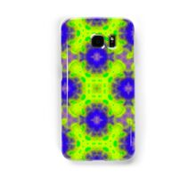 flame pattern blue yellow Samsung Galaxy Case/Skin