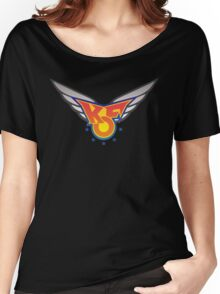 King of Fighters 96 logo (vector) Women's Relaxed Fit T-Shirt