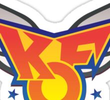 King of Fighters 96 logo (vector) Sticker