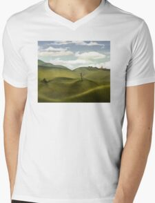 The Lonely Tree Mens V-Neck T-Shirt