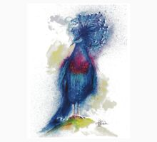 """Blue Crowned Pigeon"" T-Shirt"