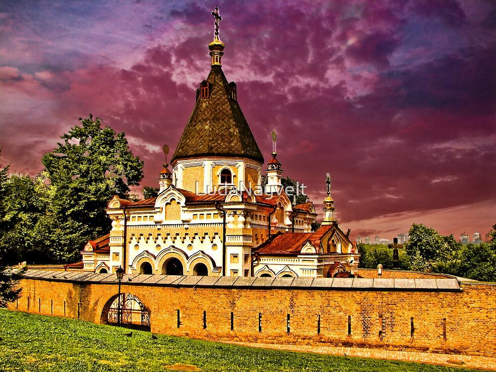 Church, part of Kievo-Pecherskoj of Monastery by LudaNayvelt