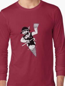 Ice-Groom Webbed Long Sleeve T-Shirt