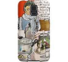 Sketching Dinner Party Samsung Galaxy Case/Skin