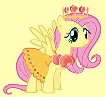 Princess Fluttershy Lolly by AriesNamarie