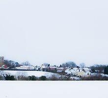 Snow in Essex by Nigel Bangert