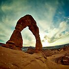 Delicate Arch by Jerry Hazard