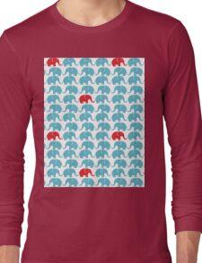 Elephant print Long Sleeve T-Shirt
