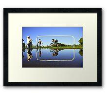 crop suggestion Framed Print