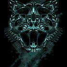 Online Predation - print by Scott Robinson