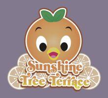 New Sunshine Tree Terrace with Orange Bird Kids Tee