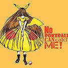 No pokeball can catch me ! by studinano