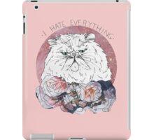 I Hate Everything iPad Case/Skin