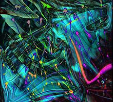 Abstract Painting by PPPhotoArt