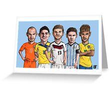 World stars Greeting Card