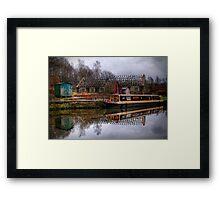 Barge Framed Print